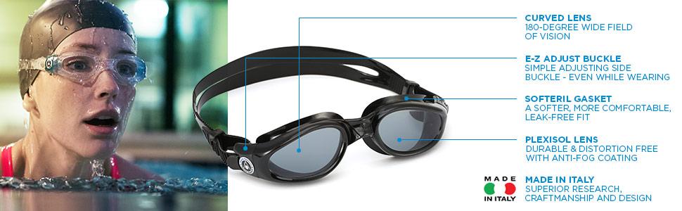 Aqua Sphere Kaiman Swimming Goggles