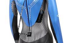 Bio Stretch Zone on Womens Racer Triathlon Wetsuit
